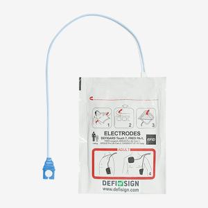 elektroder hjärtstartare defisign life