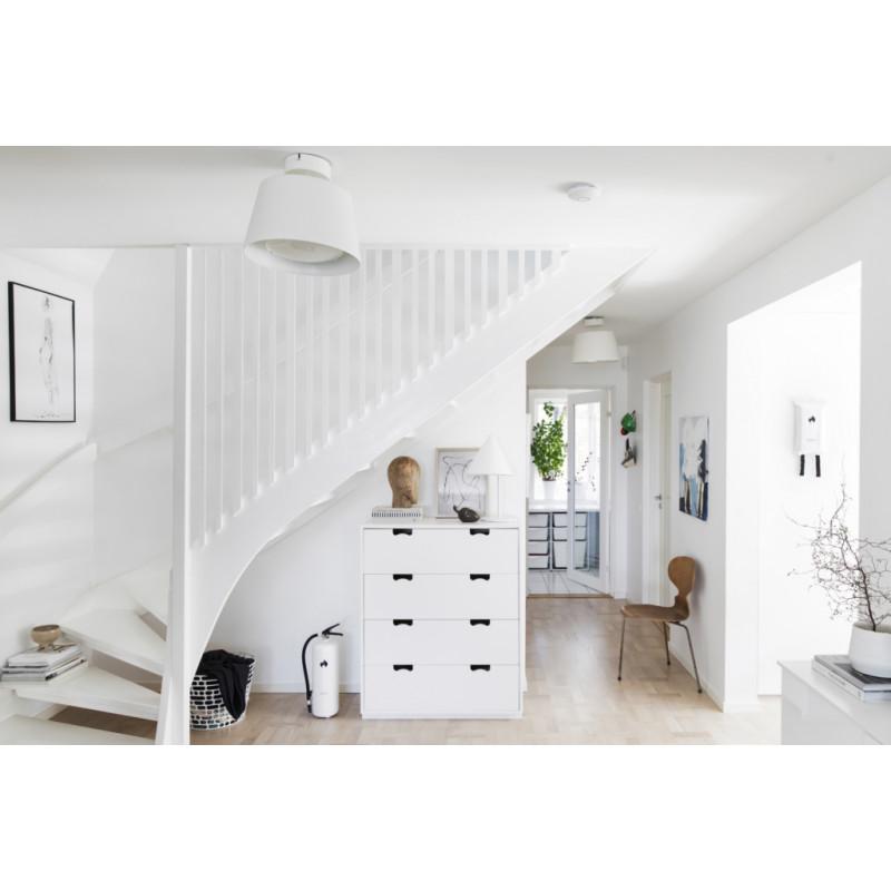 pulversläckare housegard vit i hem
