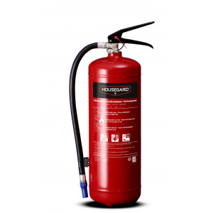 brandsläckare housegard röd