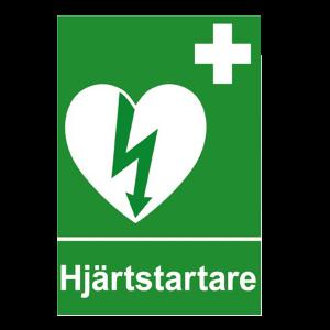 Klisterdekal hjärtstartare