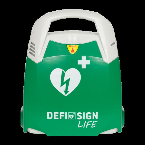 Hjärtstartare för idrottsförening - Defisign Life