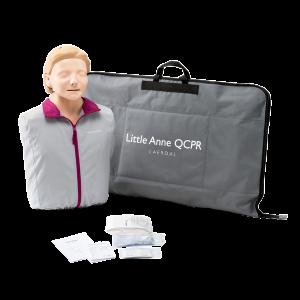 Little Anne QCPR - övningsdocka HLR med ljus hud