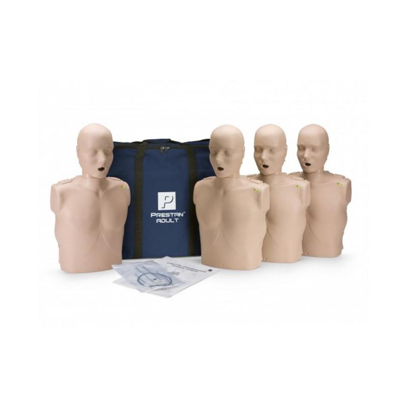 Prestan Professional -  4-pack - vuxen övningsdocka HLR