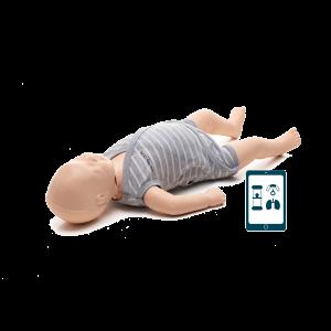 Little Baby QCPR .övningsdocka HLR - ljus hud