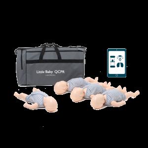 Little Baby QCPR - 4 pack - övningsdocka HLR - ljus hud
