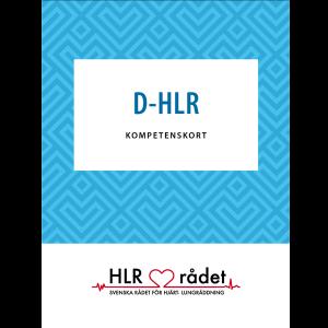 kompetenskort D-HLR - 25-pack