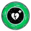 Skåp och väggfästen till hjärtstartare
